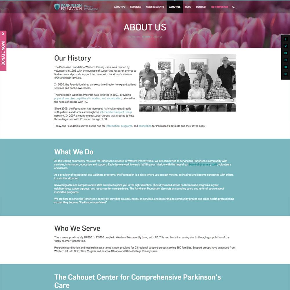 Parkinson Foundation of Western PA
