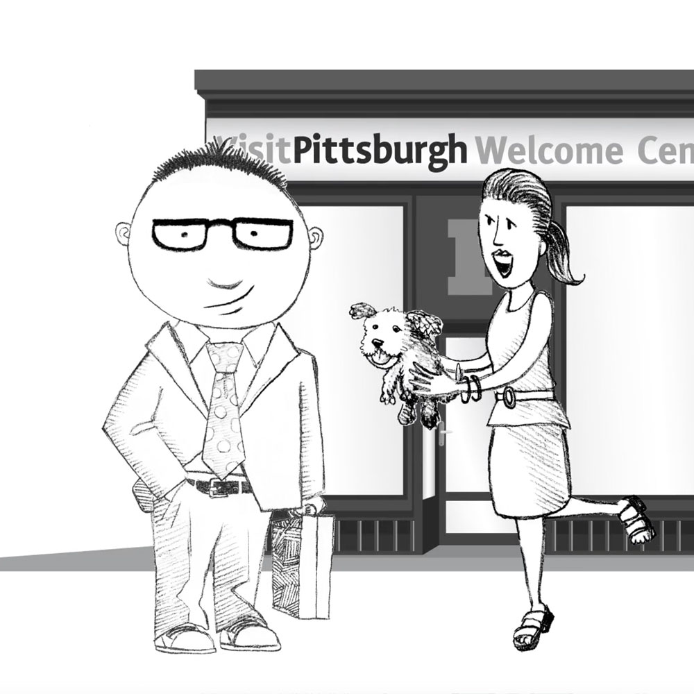 Barney's Visit to Pittsburgh